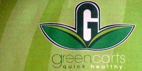 Green Carts Quick and Healthy Food At Garage in South Philly