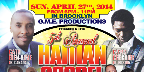 Haitian Gospel Music Festival 2014 In Irvington NJ & Brooklyn NY
