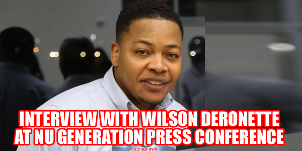 Wilson Deronette Interview In Florida