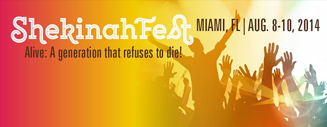 Shekinah Fest In Miami Florida August 8th to 10th 2014