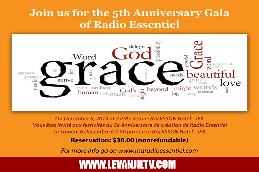 Radio Essentiel 5th Anniversary Gala in NY Saturday December 6th 2014 Event