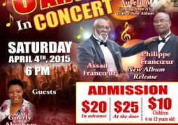 3 Evangelical Artists in Concert Saturday April 4th 2015 in Bradenton FL Event
