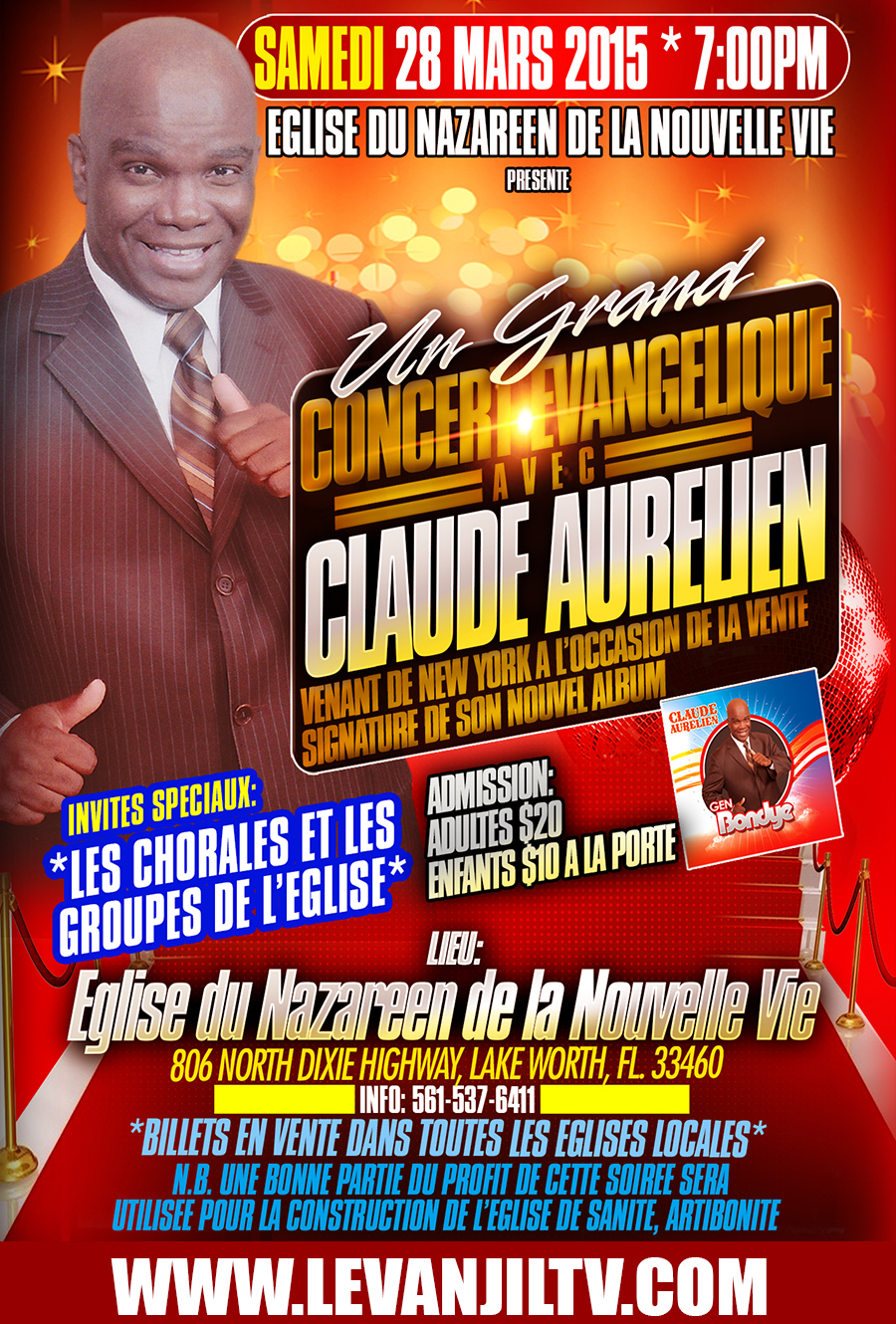 CLAUDEAURELIENLAKEWORTHEVENT2015
