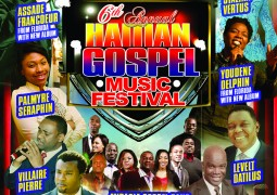 6th Annual Haitian Gospel Music Festival NJ/NY April 18 & 19 2015 Even
