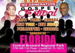 New Generation Gospel Festival Saturday June 13th 2015 FlortLaurderdal FL Event