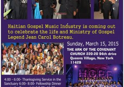 Jean Carol Botreau 40 Years in Ministry Sunday March 15 2015 Event