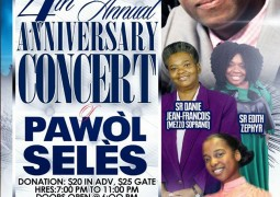 Pawol Seles 4th Anniversary Concert Samedi 18 Avril 2015 NY Event