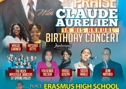 Claude Aurelien Birthday Concert 2015 Saturday October 31st Brooklyn NY Event