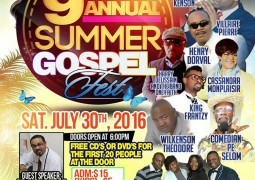 Brother Kenson 9th Annual Gospel Fest Saturday July 30th 2016 Philadelphia Event