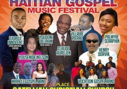 7th Annual Haitian Gospel Festival Saturday April 23 Sunday April 24 2016 NJ/NY