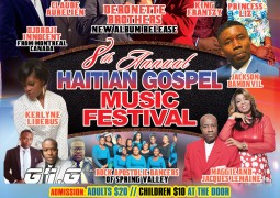 GME 8th Annual Haitian Gospel Fest April 29th 2017 New Jersey Event