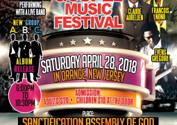 G.M.E. Haitian Gospel Festival 2018 in Orange New Jersey Event